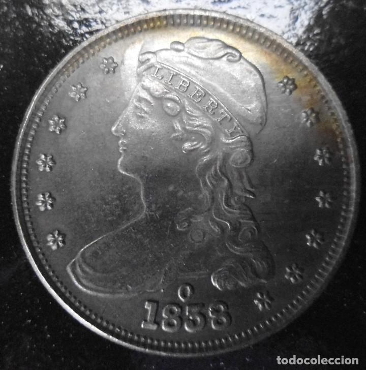 MONEDA DE 1858 (Numismática - Reproducciones)