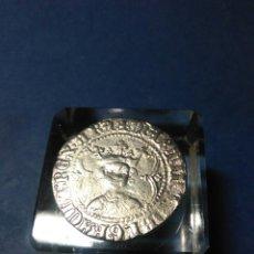 Reproducciones billetes y monedas: MONEDA ,REAL MARTI I .1396 ,BAÑO DE PLATA. Lote 232941605