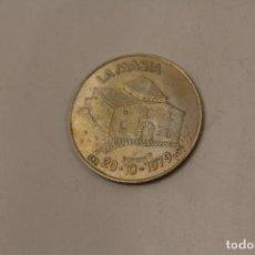 Reproducciones billetes y monedas: MONEDA PLATA LA MASIA 1995 - IVAN DE LA PEÑA. Lote 236221990