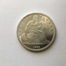 Reproducciones billetes y monedas: MONEDA RÉPLICA DE UN DOLLAR USA 1839 DOLAR. Lote 236604485