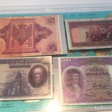 Reproducciones billetes y monedas: COLECCIÓN DE 88 BILLETES REPRODUCCIONES. Lote 237869050