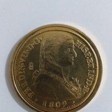 Reproduções notas e moedas: 8 ESCUDOS FERNANDO VII 1809 SANTIAGO EXCELENTE CONSERVACIÓN/REPLICA/. Lote 239511945