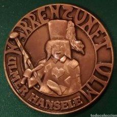 Reproducciones billetes y monedas: MONEDA TOKEN ULMER HANSELE. Lote 239747820