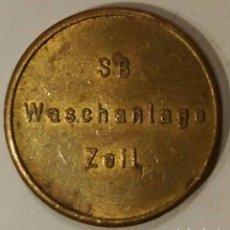 Reproducciones billetes y monedas: MONEDA TOKEN SB WASCHANLAGE ZEIL. Lote 239934675
