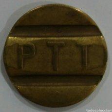 Reproducciones billetes y monedas: MONEDA TOKEN PTT TELEFON JETONU. Lote 239988460