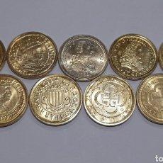 Reproducciones billetes y monedas: 8 MONEDAS DIFERENTES ÉPOCAS ( FTMM) 2002. VER FOTOS.. Lote 240053485