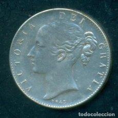 Reproduções notas e moedas: GRAN BRETAÑA - 1 CROWN REINA VICTORIA 1845.. Lote 243882210