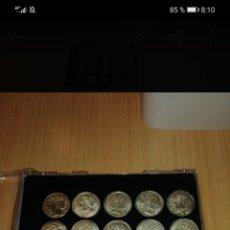 Reproducciones billetes y monedas: MONEDAS CATALANAS DE PLATA. Lote 244620240