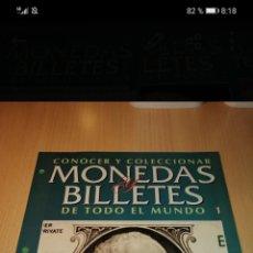 Reproducciones billetes y monedas: MONEDAS Y BILLETES DEL MUNDO. Lote 244624780