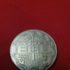 Reproducciones billetes y monedas: MONEDA 10 ECU 1990 NEDERLAND. Lote 244770375