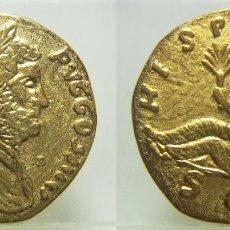 Reproduções notas e moedas: REPRODUCCIÓN DE UNA MONEDA DE ADRIANO REVERSO HISPANIA 33 MM. Lote 244883675