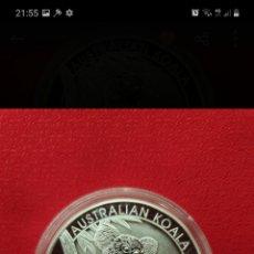 Reproducciones billetes y monedas: MONEDA CONMEMORATIVA ONZA ELIZABETH LL. Lote 245134025