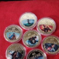 Reproducciones billetes y monedas: LIGA DE LA JUSTICIA. Lote 245185910