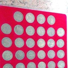 Reproducciones billetes y monedas: COLECCIÓN DE MONEDAS CONMEMORATIVA JUEGOS OLIMPICOS 2016. Lote 245187075