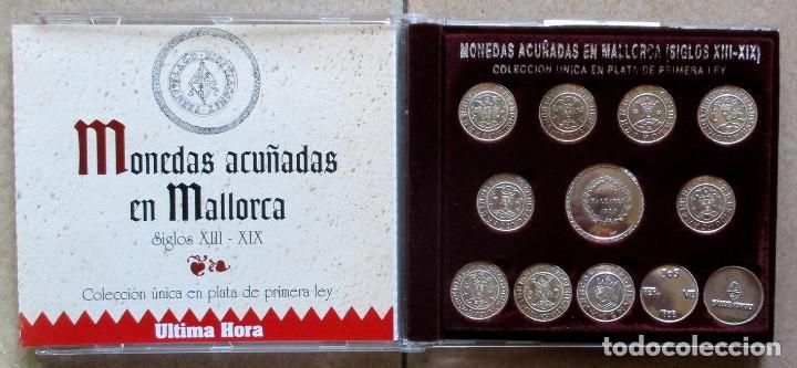 MONEDAS ACUÑADAS EN MALLORCA (SIGLOS XIII-XIX). PLATA DE PRIMERA LEY. LOTE 3730 (Numismática - Reproducciones)