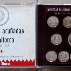 Reproduções notas e moedas: MONEDAS ACUÑADAS EN MALLORCA (SIGLOS XIII-XIX). PLATA DE PRIMERA LEY. LOTE 3730. Lote 248428300