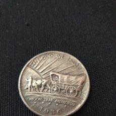 Reproducciones billetes y monedas: MONEDA HALF DOLLAR 1936. Lote 254325045