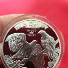 Reproducciones billetes y monedas: MONEDA ONZA LIBERTY. Lote 254329710