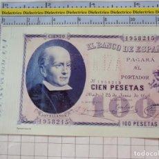 Riproduzioni banconote e monete: BILLETE FACSÍMIL DE ESPAÑA. MADRID 24 JUNIO 1898 100 PESETAS. Lote 254835775