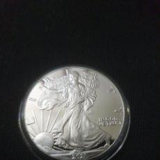 Reproducciones billetes y monedas: MONEDA ONZA ONE DOLLARS LIBERTY 2021. Lote 275617158