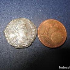 Reproducciones billetes y monedas: CONSTANTINO I PLATA 2,80GR IMAGEN CRISTOGRAMA Y ESCLAVOS EN EL REVERSO DESPUÉS DE 336 AÑOS. Lote 257773665