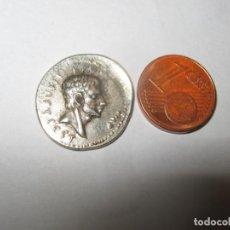 Riproduzioni banconote e monete: MARCUS JUNIUS BRUTUS, THE TYRANNICIDE, D.42 B.C.MONEDA MILITAR. Lote 258029395