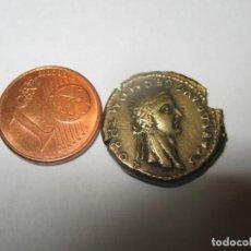 Riproduzioni banconote e monete: GAIUS (CALIGULA) CON AGRIPPINA SENIOR. 37-41 D.C. ORO BRONCE CHR. 5.40 GR (AUREUS) NO ORO REAL. Lote 258114935