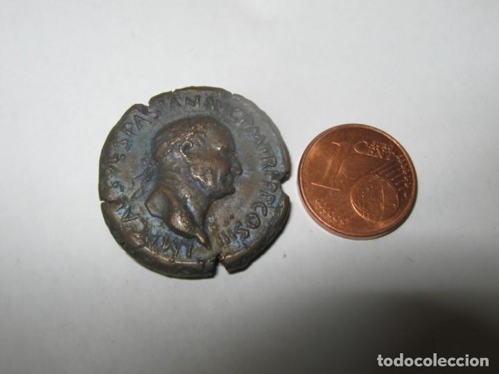TITUS FLAVIUS VESPASIANUS, ALS 69-79 -BRONZEN COINS 15,60 GR (Numismática - Reproducciones)