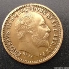 Reproducciones billetes y monedas: PRECIOSA MONEDA INGLESA AÑO 1916. Lote 260374215