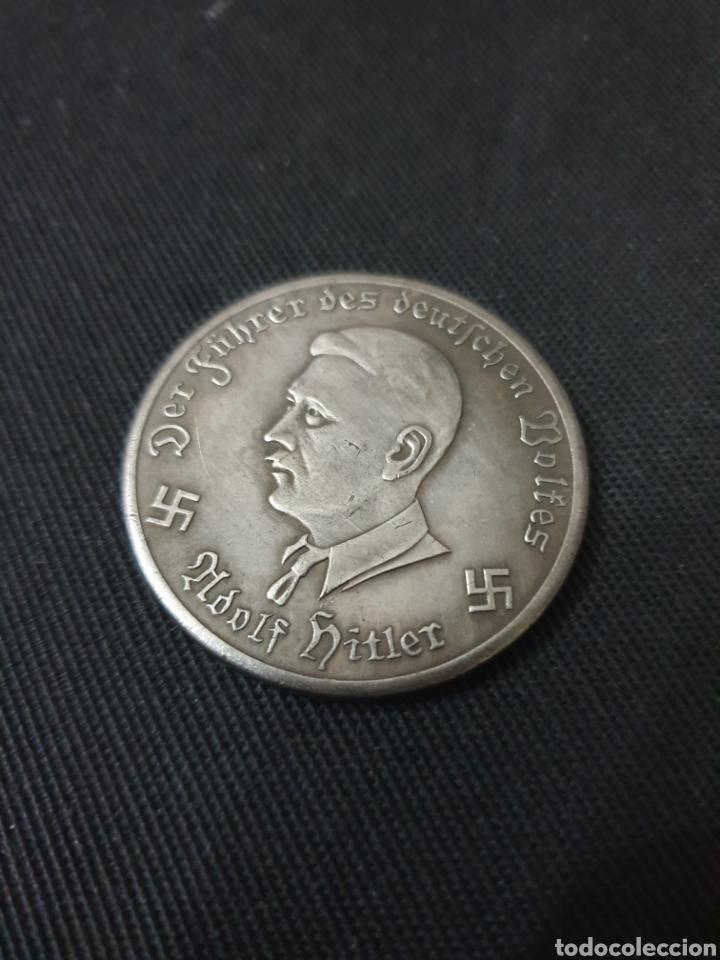 MONEDA 10 MARK ADOLF HITLER 1941 (Numismática - Reproducciones)
