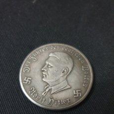 Reproduções notas e moedas: MONEDA 10 MARK ADOLF HITLER 1941. Lote 260767885