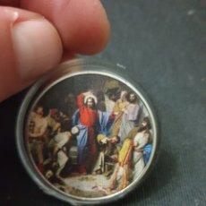Reproduções notas e moedas: MONEDA ONZA MOTIVO RELIGIOSO. Lote 260768015