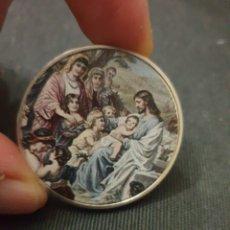 Reproduções notas e moedas: MONEDA ONZA MOTIVO RELIGIOSO. Lote 260769575