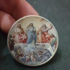 Reproduções notas e moedas: MONEDA ONZA MOTIVO RELIGIOSO. Lote 260778175