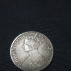 Reproduções notas e moedas: MONEDA INGLATERRA REINA VICTORIA. Lote 261138560