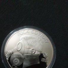 Reproduções notas e moedas: MONEDA CONMEMORATIVA MOTIVO COVID 19 2020. Lote 261138775