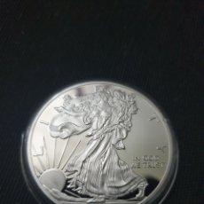 Reproduções notas e moedas: MONEDA ONZA ONE DOLLAR LIBERTY 2013. Lote 261140715