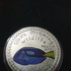 Reproducciones billetes y monedas: MONEDS ONZA 5000 FRANCS REPÚBLICA DU BURUNDI. Lote 275617473