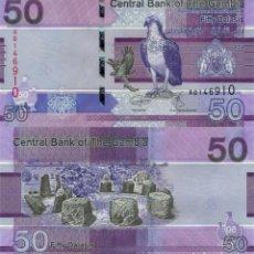 Reproducciones billetes y monedas: GAMBIA 50 DALASIS 2019 P 40 UNC (LEER CONDICIONES DE VENTA EN DESCRIPCION). Lote 261989970