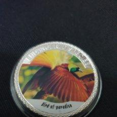 Reproducciones billetes y monedas: MONEDA ONZA 100$ ANIMAL PROTECTION. Lote 262145025