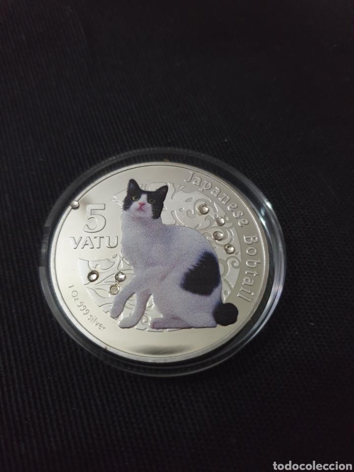 MONEDA ONZA 5 VATU 2015 (Numismática - Reproducciones)