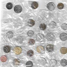Reproducciones billetes y monedas: COLECCIÓN MONEDAS DE EUROPA - 40 REPLICAS - DIARIO SUR - COMPLETA.. Lote 263651630