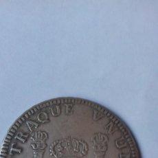Reproducciones billetes y monedas: COLUNNARIO EN PLATA DE 8 REALES DEL AÑO 1762 CECA DE SANTIAGO. Lote 265534264