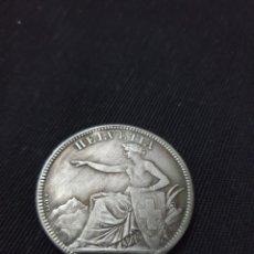 Reproducciones billetes y monedas: MONEDA 5 FRANCS 1873 HELVETIA. Lote 275616868