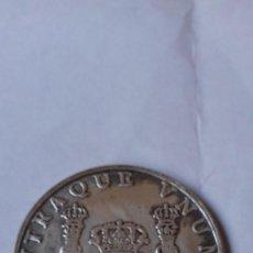 Reproducciones billetes y monedas: COLUNNARIO DE 1741 DE 8 REALES REPLICA EN PLATA. Lote 265703409
