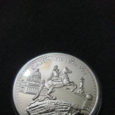 Reproducciones billetes y monedas: MONEDA ONZA CONMEMORATIVA RUSIA SAN PETERSBURGO. Lote 275616733