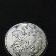 Reproducciones billetes y monedas: MONEDA CONMEMORATIVA REY EDUARDO VLLL & SAN JORDY. Lote 275616788