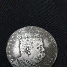 Reproduções notas e moedas: MONEDA 5 LIRAS COLONIA ERITREA 1891 ITALIA. Lote 266980149