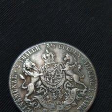 Reproduções notas e moedas: MONEDA 2 TALER GEORG V ALEMANIA 1855. Lote 266980319