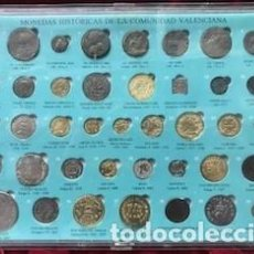 Reproducciones billetes y monedas: MONEDAS HISTORICAS DE LA COMUNIDAD VALENCIANA. Lote 267083199